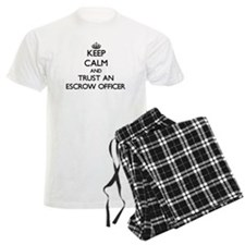 Keep Calm and Trust an Escrow Officer Pajamas