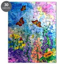Butterfly Garden 7.5x9.5 Puzzle (30 Pieces)
