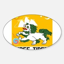 Free Tibet - Old Flag Decal