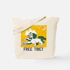 Free Tibet - Old Flag Tote Bag
