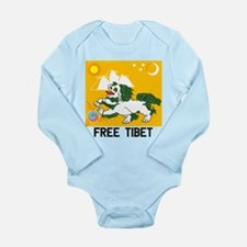 Free Tibet - Old Flag Body Suit