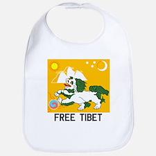 Free Tibet - Old Flag Bib