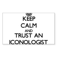 Keep Calm and Trust an Iconologist Decal