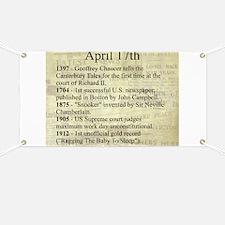 April 17th Banner