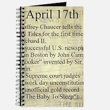 April 17th Journal
