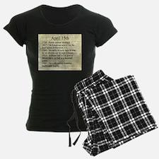 April 15th Pajamas