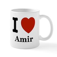 I love Amir Mug