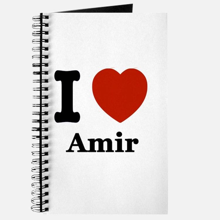 I love Amir Journal