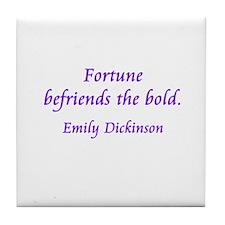 Fortune Tile Coaster