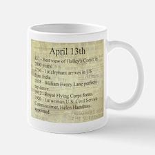 April 13th Mugs