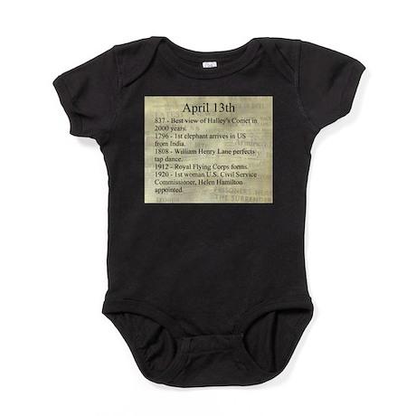 April 13th Baby Bodysuit