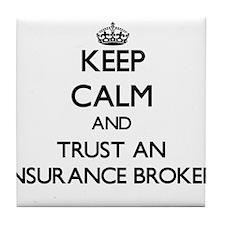 Keep Calm and Trust an Insurance Broker Tile Coast