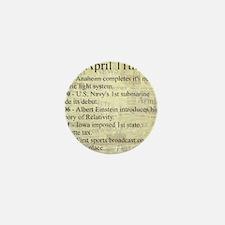 April 11th Mini Button