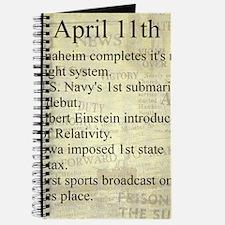 April 11th Journal