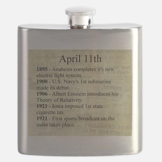 April 11th Flask