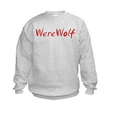 Red WereWolf Sweatshirt