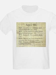 April 9th T-Shirt