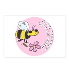 Save The Bees Postcards (Package of 8)