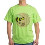 Save The Bees Green T-Shirt