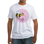 Save The Bees Fitted T-Shirt