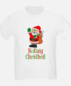 Nollaig Chridheil Scottish Child T-Shirt