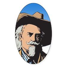 Buffalo Bill Oval Stickers