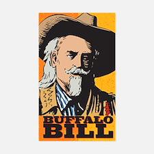 Buffalo Bill Rectangle Decal