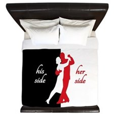 Lover s Side King Duvet
