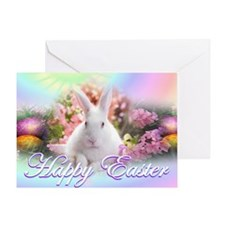 Happy-Easter-Bunny- Greeting Card