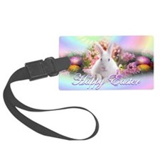 Happy-Easter-Bunny- Luggage Tag