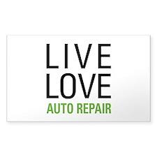 Live Love Auto Repair Decal
