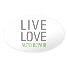 Live Love Auto Repair Decal