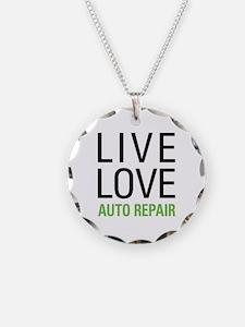 Live Love Auto Repair Necklace