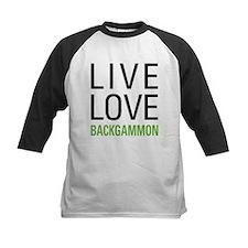 Live Love Backgammon Tee