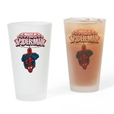 The Ultimate Spiderman Drinking Glass