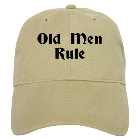 Old Men Rule Baseball Cap By Shopgreatgifts