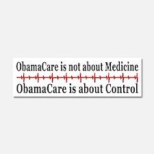 Obama socialism Car Magnet 10 x 3