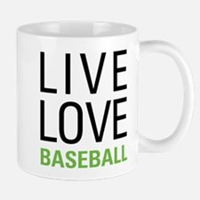 Live Love Baseball Mug