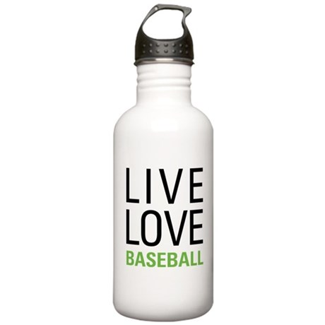 Live Love Baseball Stainless Water Bottle 1.0L