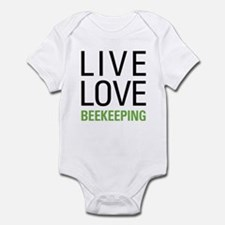 Live Love Beekeeping Infant Bodysuit