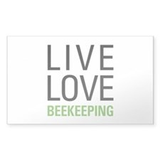 Live Love Beekeeping Decal