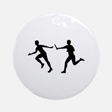 Relay race Ornament (Round)