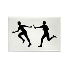 Relay race Rectangle Magnet