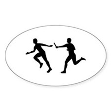 Relay race Decal