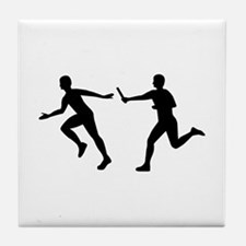 Relay race Tile Coaster