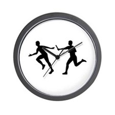 Relay race Wall Clock