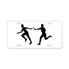 Relay race Aluminum License Plate