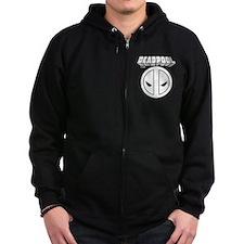 Deadpool Design 5 Zip Hoodie