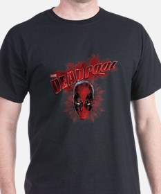 Deadpool Face T-Shirt