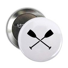 """Crossed Paddles 2.25"""" Button"""